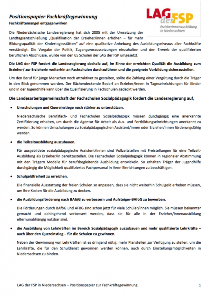 Aktuelles Lagderfsp Landesarbeitsgemeinschaft Der